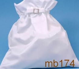 Wholesale Mini White Satin Bridal Hand Bags Women Bags