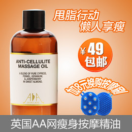 Wholesale Aa net slimming stovepipe compound massage oil ml body firming slimming weight loss