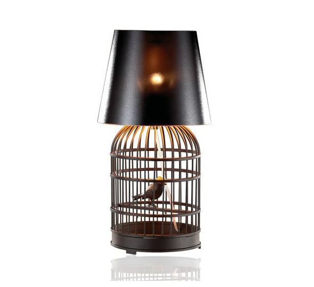 Modern Fashion Personality Creative Stainless Steel Birdcage Table ...