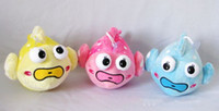 Plush Toy baby underwater - 6 Underwater world clown fish color goldfish stuffed plush toys and comfortable baby dolls toy