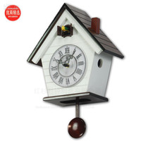 Wholesale High Quality Cuckoo Clock Bell Birdie Timekeeping Fashion Simple Wall Clock Living Room Clocks