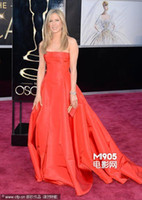 Wholesale 2013 sexy Oscar Orange Celebrity Dress Inspired by Jennifer Aniston the th Academy Award