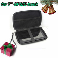 Wholesale 100pcs quot GPS case GPS bag PU EVA hard material to protect your GPS black colour