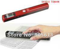 Portable Scanner portable scanner - Newest Portable Handheld Handy Scanner SKYPIX TSN44W USB Wifi Scanner with LCD Micro SD Card