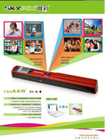 Wholesale Hot selling SKYPIX TSN44W USB Wifi Scanner A4 Size Handheld Scanner with LCD Display SD Card