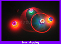 Wholesale Spiderman LED Flash Light Spinning Spin Top Beyblade Music Laser Wind Up Toy New