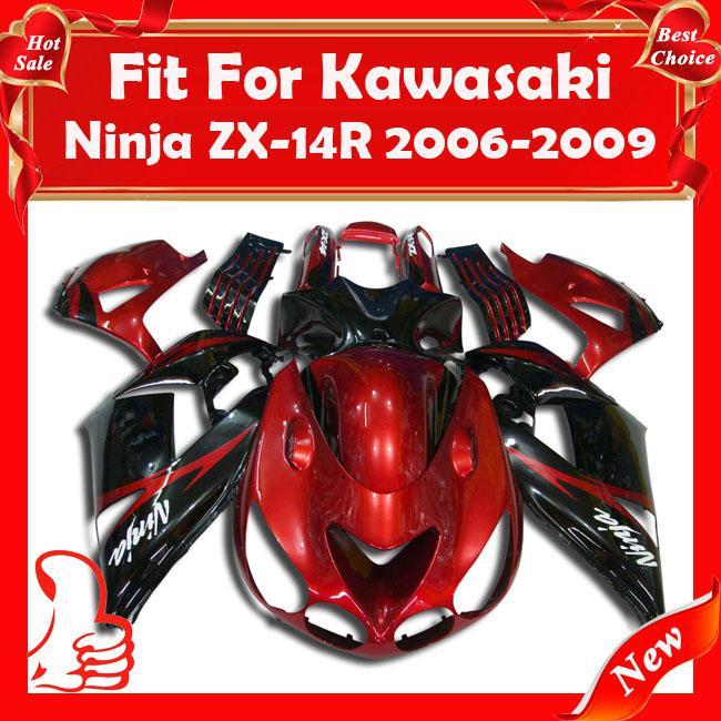 fairing for kawasaki ninja zx14 zzr1400 06 09 zx14 r 06 07. Black Bedroom Furniture Sets. Home Design Ideas
