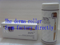 Retail ZGTS derma roller, ZGTS 192 Titanium alloy titanium ne...