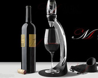 Wholesale Magic Decanter Red Wine Aerator Essential Decanting Set With Bag Hopper Wine Aerator Cup FREE SHIP