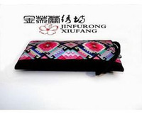 Wholesale Ethnic Embroidery Clutch Hmong Embroidered Purse Ladies Day Clutch Bag