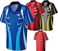 Wholesale 2013 Butterfly men s table tennis clothing badminton game T shirt new colour