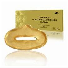 Wholesale Collagen Crystal Lip Mask Membrane Moisture Essence Golden