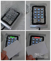 Wholesale RFID KHZMetal Keypad waterproof Door Access Controller Reader Tamper Alarm cn kingtop