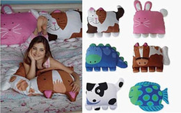 Wholesale doomagic lovely pillowcase children bedding case animal classical pillowcase cartoon pillow covers