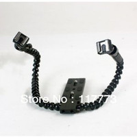 Metal   Macro Shot DUAL ARM flash bracket mount for Canon Nikon
