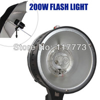 Wholesale Pro Photography Studio light Photo Flash Light W digital flash light