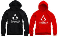 Free Shipping anime hoodies 2015 new fleece pullover assassins creed HOODIES hoodie assassin's creed hoodie for spring autumn winter 8 color