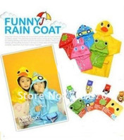 Wholesale Rain Coat Kids Raincoat Rainwear Rainsuit Kids Waterproof Garment Animal Raincoat
