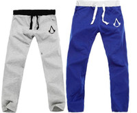 Wholesale color sports pants assassin s creeds pants dance SweatPants hip hop pants