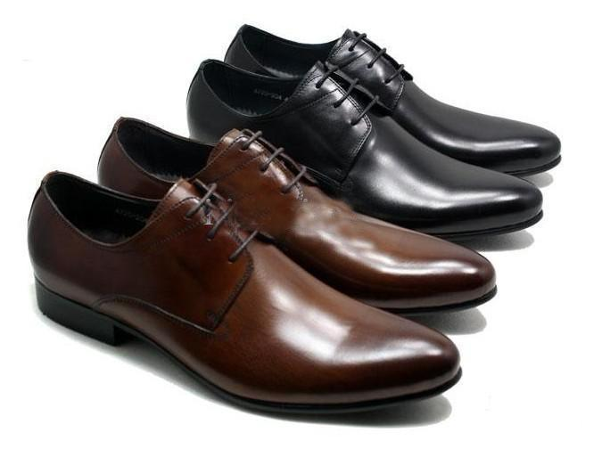 2013 New Men's Dress Shoes, Simple And Elegant, Self Pointed ...