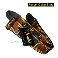 Wholesale New Black Classic Vintage Acoustic Electric Guitar Strap