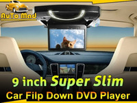 Wholesale 9 quot Inch Roof Mounted Car DVD Player with Kid Games Disc USB SD FM Transmitter IR