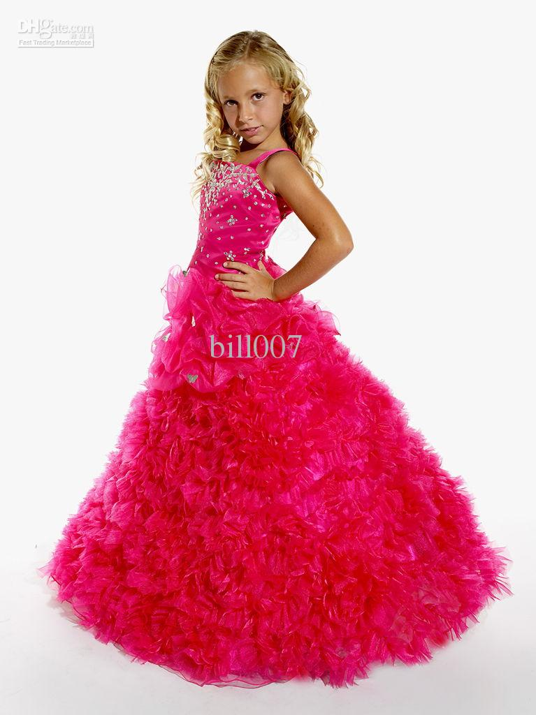 Pageant And Flower Girl Dresses