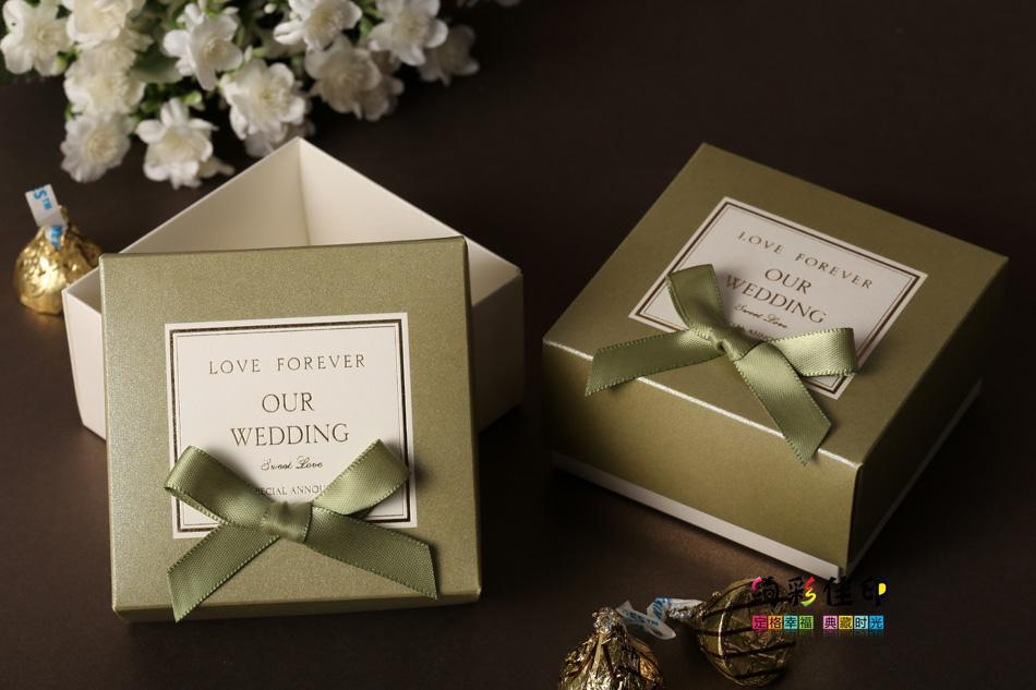 Wedding Favor Boxes For Chocolates : ... Elegant wedding favor boxes handmade/DIY box candy box shipping free