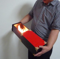 Wholesale Flame to the box magic trick prop