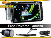 Wholesale 8 quot VW Android Car Stereo Navi System w GPS G Wifi PIP AV in Rear Camera