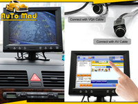 Car Parking Sensor av entertainment - 8 quot Inch Touchscreen Car Monitor LCD w VGA RCA AV in In car Entertainment PC POS