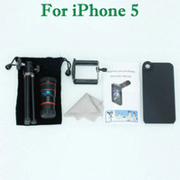 Wholesale Mobile Phone Telephoto Lens For iPhone Black amp Orange
