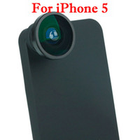 Wholesale Fish eye Lens For iPhone degress Black Brand New