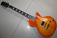 Wholesale Best china guitar Custom Shop Limited Single Pickup Electric Guitar Iced Tea OEM Musical