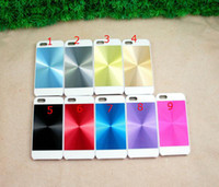 Wholesale Aluminum Metal D CD Plastic Hard Back Cover Case for Apple iPhone G S