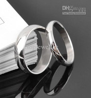 Wholesale Promotion Cheap Titanium Steel Ring MM For Men And Women Valentine Gifts Wedding Rings MG J7