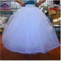 100% Polyester beautiful petticoats - Beautiful Bridal Gown Petticoat Petticoats Underskirt A Lined For Dress And Gowns With Hoop
