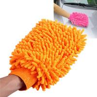 Wholesale 10pcs Super Mitt Microfiber Car Wash Washing Cleaning Glove Hand Sleeve