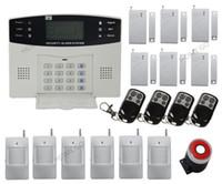 оптовых home alarm system-Беспроводной домашней охранной сигнализации Система Inturder Телефонная линия АВТО-DIALER