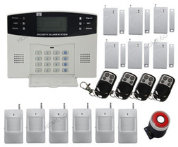 Wireless Home Alarm Security Inturder System Phone line AUTO-DIALER
