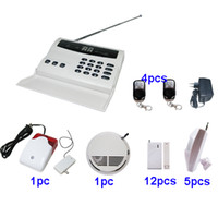 Wholesale Wireless home security PSTN burglar alarm system w autodialer wireless siren P5A
