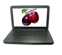 Wholesale 5PCS DHL inch laptop Dual core Intel Atom D2500 GHz with DVD player GB GB supports win