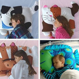 Wholesale 50pcs DHL Doomagic children animal shapes Pillow cases Mix Cartoon Styles