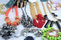 achat en gros de bracelet bague de gros bijoux-Hot Vente Europe Colliers Style Bracelets Boucles D'oreilles Anneaux Multi Mode Bijoux Vente En Gros 500g Pas Cher