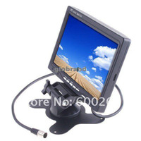 Wholesale GHJB114 quot TFT LCD Color Car Rearview Headrest Monitor DVD VCR