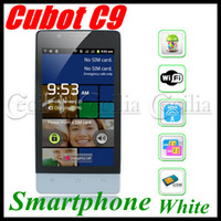4.0 Android with Bluetooth Cubot C9 4.0 inch Capacitive Screen Smartphone MTK6515 1GHz CPU Dual SIM Android 2.3 moblie -White