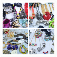 Bohemian Unisex Party Hot Sale Western Style Bracelets Necklace Earrings Rings Multi Fashion Jewelry Wholesale 500g Lot
