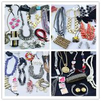 Wholesale Multi Item Jewelry Bracelets Necklace Earrings Rings Hot Sale Fashion Jewelry g
