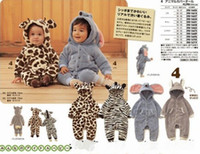 Wholesale Baby animal rompers jumpers toddler romper Baby bodysuit jumpsuit zebra Baby animal romper