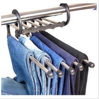 Wholesale Magic trousers hanger multi function pants hanger ABC4